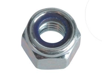 Nyloc Nuts & Washers Zinc Plated M6 ForgePack 25